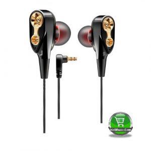 QKZ CK8 Stylish Black Headphone