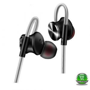 QKZ Metal Body Black Headphone