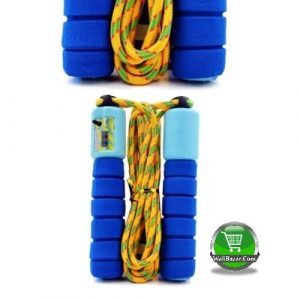 durable Skipping Rope, Green and Red