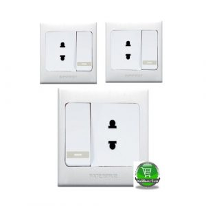 Socket 2 Pin with Switch