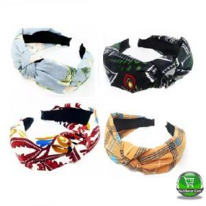 Style Cloth Cross Hoop Headwear