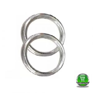 Chin Up Ring, Silver