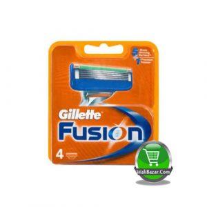 Gillette 4 Cartridges Fusion Blades