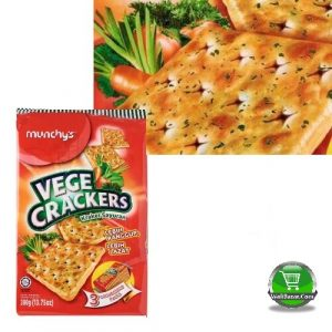 Munchy's Vege Crackers Biscuits