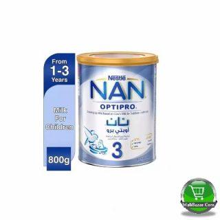 NAN 3 optipro Growing Up Milk Tin Dubai