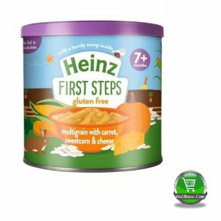 Heinz first steps multigrain with carrot, sweetcorn & cheese