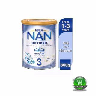NAN 3 optipro Growing Up Milk Tin (Dubai)
