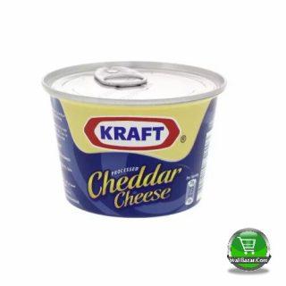 Kraft Processed Cheddar Cheese Tin