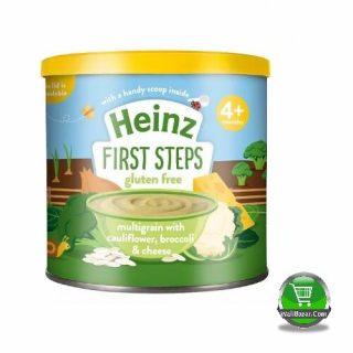 Heinz First Steps Multigrain with Cauliflower Broccoli and Cheese