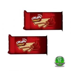 Pran Mama Creamy Crunch Chocolate Wafer