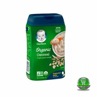 Garber Organic Oatmeal cereal For Supported Sitter Baby