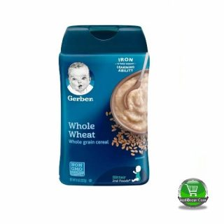 Garber Whole Wheat cereal For sitter Baby