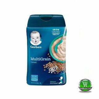 Garber Multigrain cereal For Sitter Baby