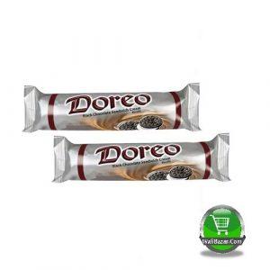 Danish Doreo Chocolate Black Sandwich Cream Biscuit